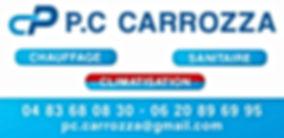 PC CARROZZA | Plombier, chauffage, clima