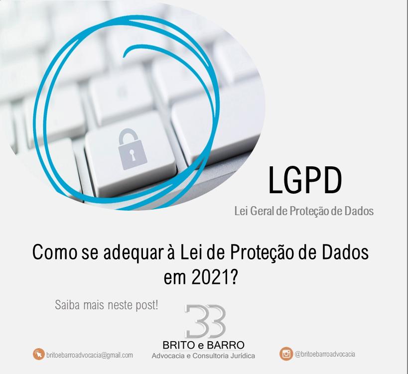 segurança de dados, LGPD