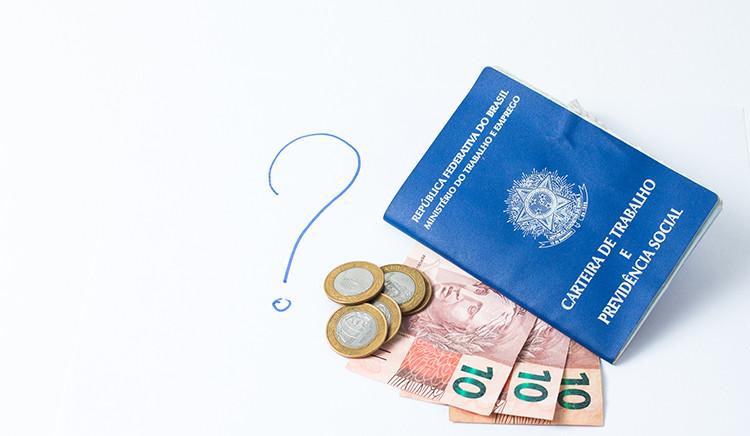 Carteira de trabalho e impacto financeiro