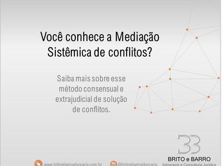 Saiba mais sobre a Mediação Sistêmica Extrajudicial para solução consensual de conflitos!