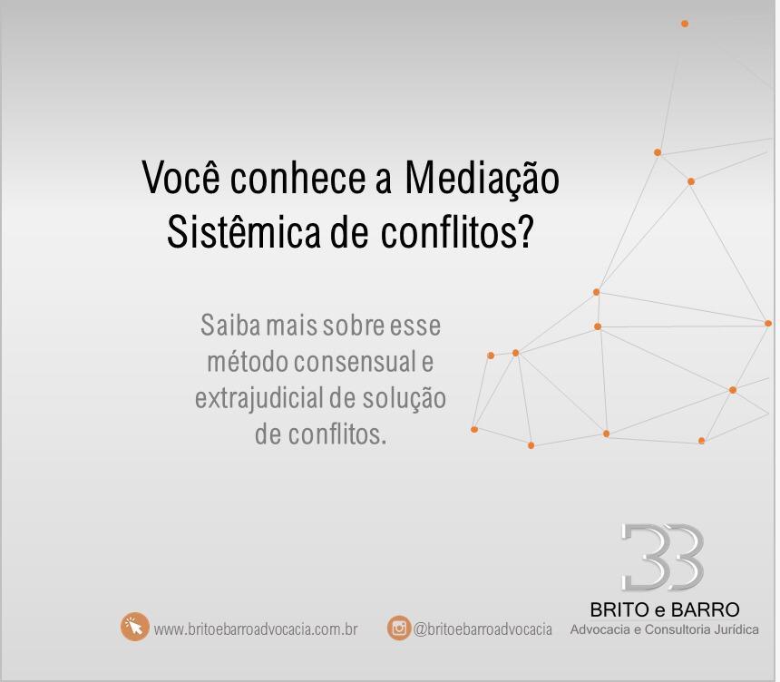 Mediação sistêmica conflitos