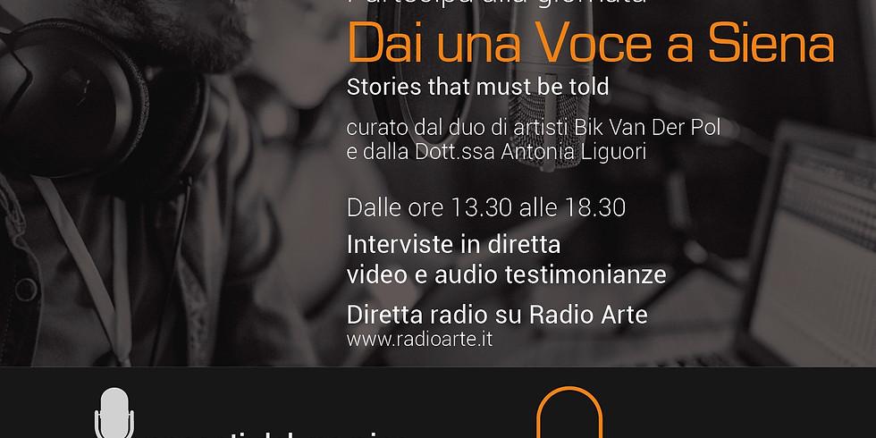 WORKSHOP SUL DIGITAL STORYTELLING CON ANTONIA LIGUORI
