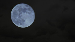 Blue Moon Clouds