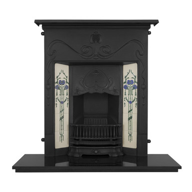 Valentine Cast Iron Combination Fireplace | Carron
