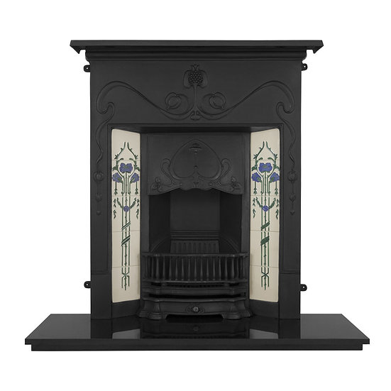 Valentine Cast Iron Combination Fireplace | Carron