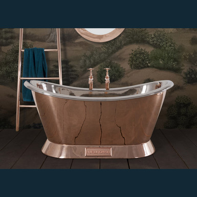 Copper Bateau Bath (1500mm) | Hurlingham