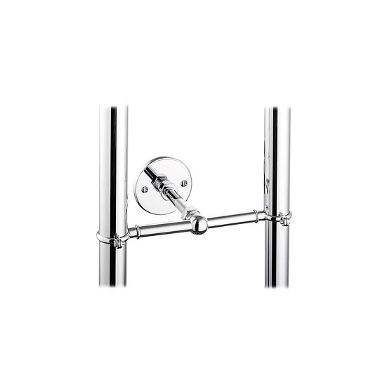 Stand Pipe Support Bracket in Chrome | Hurlingham