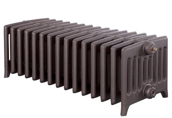 Rathmell 340mm, 9 Column, 15 Sections | Roberson Liquid Metal Baroque | Carron