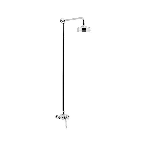 Hartlebury Exposed Shower with Fixed Riser Kit | Heritage