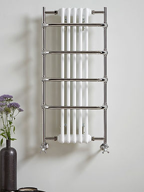 The Sequel V Wall Mounted Towel Rail Brass Construction   Vogue UK
