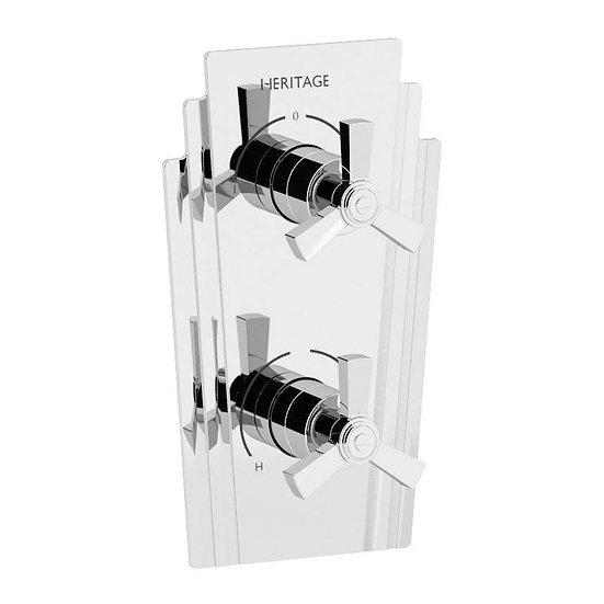 Gracechurch Recessed Shower Valve with Diverter | Heritage