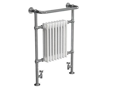 Regency Heated Towel Rail - White | Vogue UK