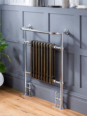 Regency Heated Towel Rail - Coloured   Vogue UK