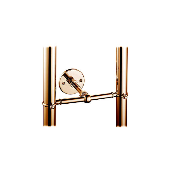 Stand Pipe Support Bracket in Copper | Hurlingham