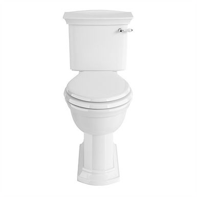 Blenheim Close Coupled Comfort Height WC & Cistern   Heritage