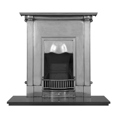 Abingdon Cast Iron Combination Fireplace | Full Polish | Carron