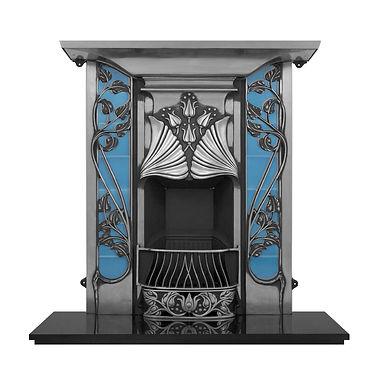 Toulouse Cast Iron Combination Fireplace   Carron