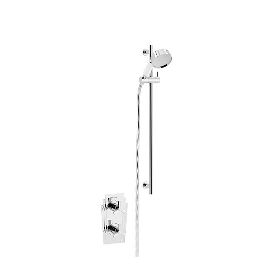 Gracechurch Recessed Shower with Flexible Riser Kit | Heritage
