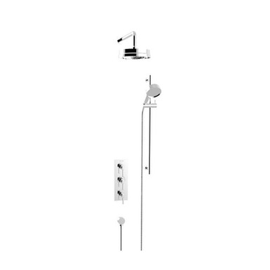 Somersby Recessed Shower Valve  with Fixed Head Kit   Heritage