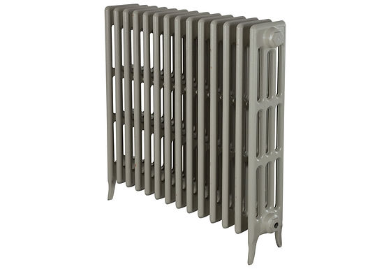 Victorian 810mm, 4 Column, 1 Sections | F&B French Grey | Carron