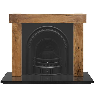 Beckingham Arched Cast Iron Fireplace Insert   Carron
