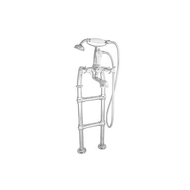 Freestanding Bath Mixer Taps with Small Tap Stand | Hurlingham
