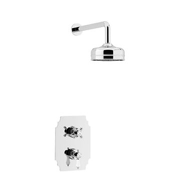 Hartlebury Recessed Shower Valve with Fixed Head | Heritage