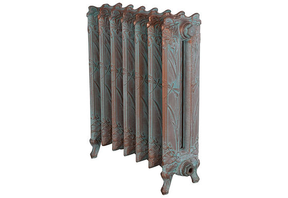 Dragonfly 790mm, 2 Column, 7 Sections   Vintage Copper   Carron