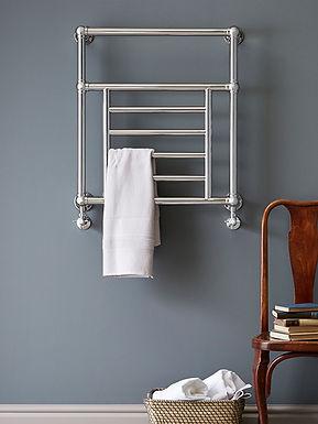 The Elizabeth Wall Mounted Towel Rail Brass Construction | Vogue UK