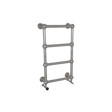Grandis Chrome Wall Mounted Towel Warmer | Hurlingham