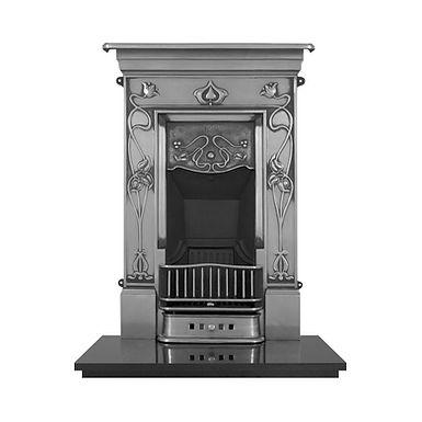 Crocus Cast Iron Combination Fireplace | Carron