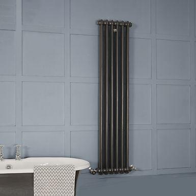 Ambereley 1 Column Vertical Cast Iron Radiator
