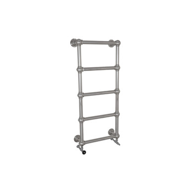 Large Grandis Chrome Wall Mounted Towel Warmer | Hurlingham