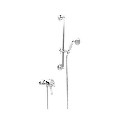 Dawlish Exposed Shower with Flexible Riser Kit | Heritage
