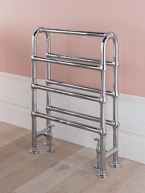 Arcadia Floor Mounted Heated Towel Rail | Vogue UK