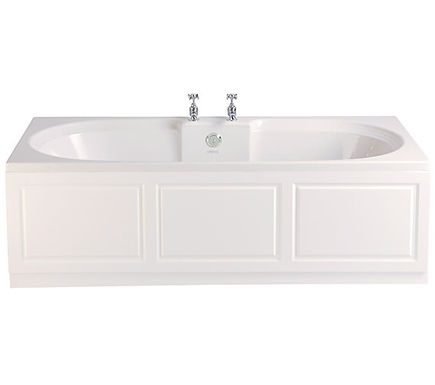 Dorchester Acrylic Double Ended Fitted Bath   Heritage