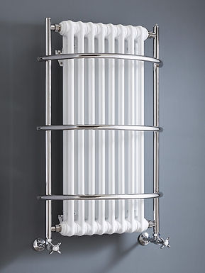 The Nexus Grand IV Wall Mounted Towel Rail Brass Construction   Vogue UK