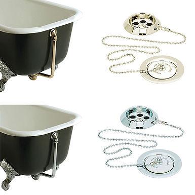 Exposed Bath Waste & Overflow Kit | Heritage