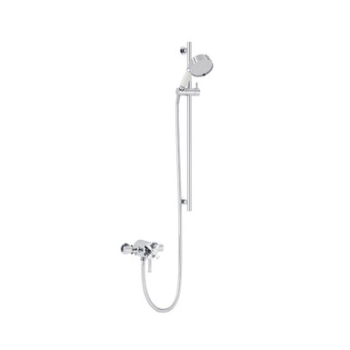 Somersby Exposed Shower Valve with Flexible Riser Kit | Heritage