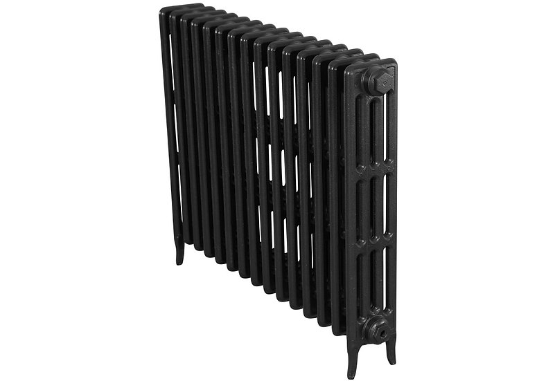The Victorian 760mm, 4 Column, 15 Sections | Graphite Grey | Carron