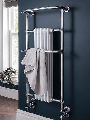 Regency Tall Heated Towel Rail | Vogue UK