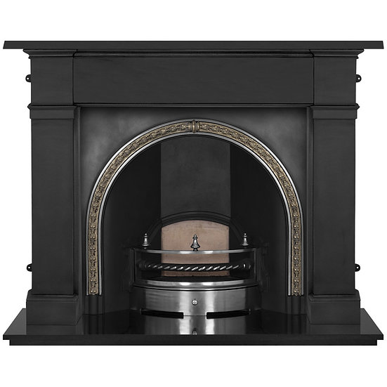 Kensington Cast Iron Fireplace Insert   Highlight   Carron