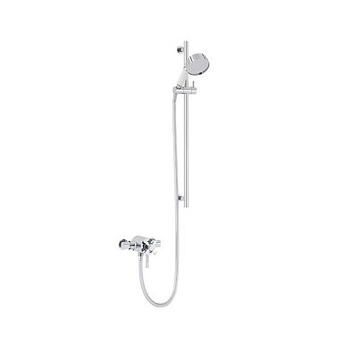 Somersby Recessed Shower Valve with Flexible Riser Kit | Heritage