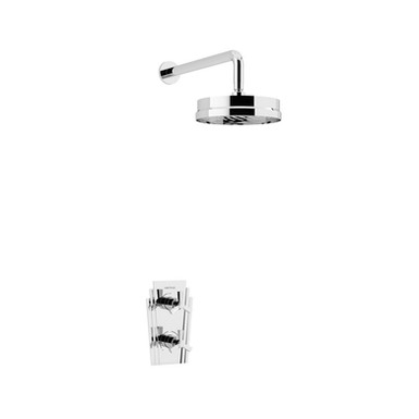 Gracechurch Recessed Shower with Deluxe Fixed Head Kit | Heritage