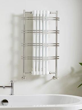 The Sequel III Wall Mounted Towel Rail Brass Construction   Vogue UK