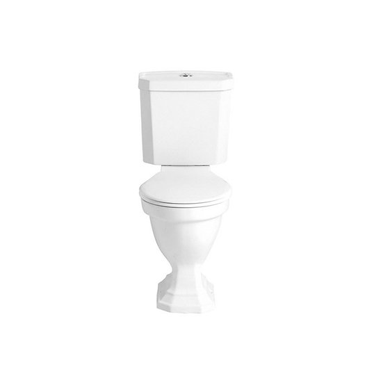 Granley Deco Close Coupled WC & Portrait Cistern | Heritage