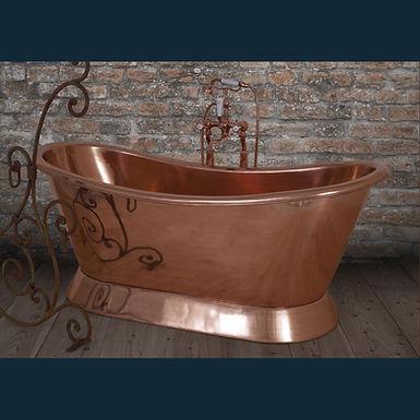 Copper Bateau Bath | Hurlingham