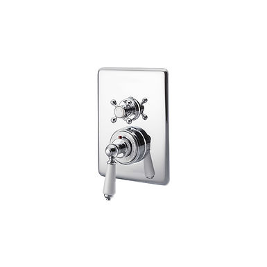 Concealed Dual Control Thermostatic Shower Valve | Hurlingham