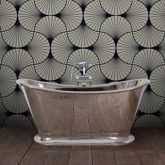 Dietrich Copper with Nickel Finish Bath | Hurlingham