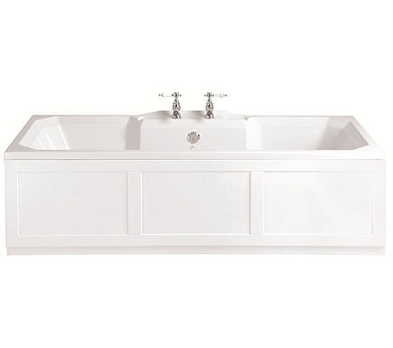 Granley Double Ended Acrylic Fitted Bath | Heritage